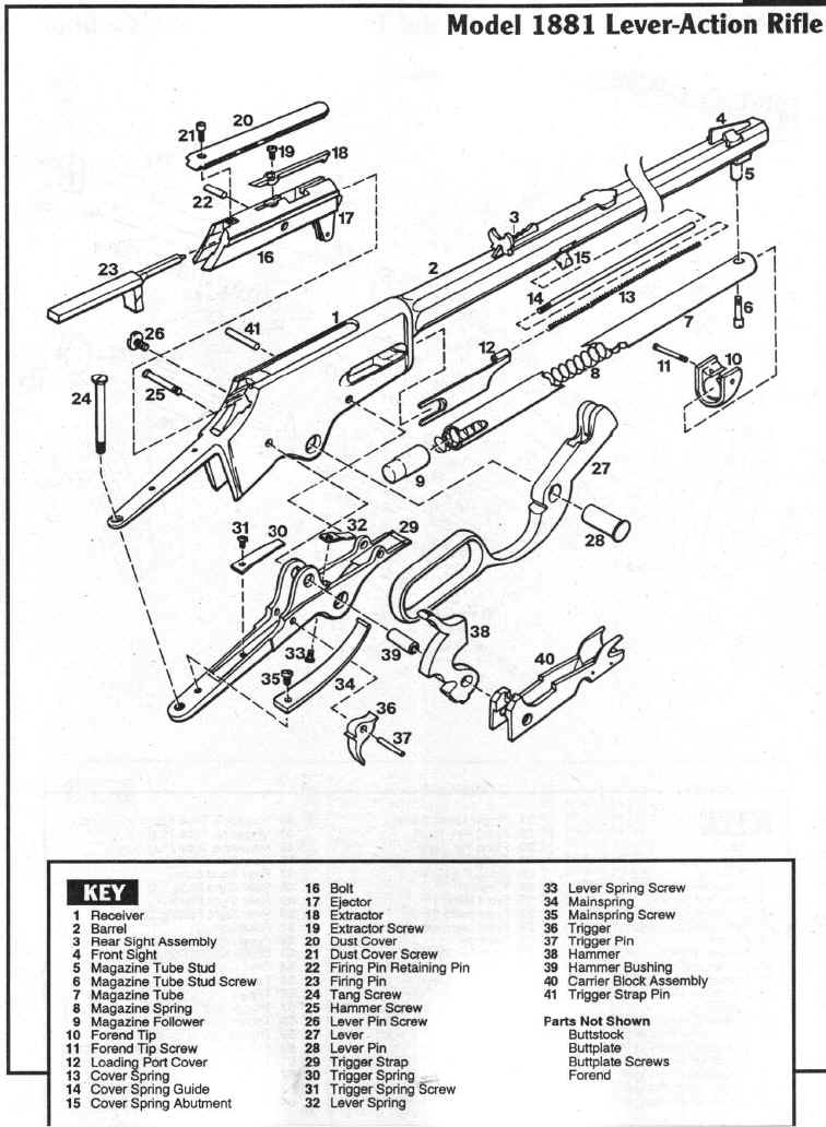 marlin model 336 parts diagram  marlin  free engine image
