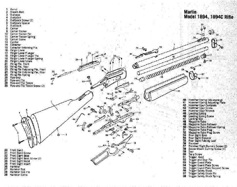 marlin model 60 exploded diagram