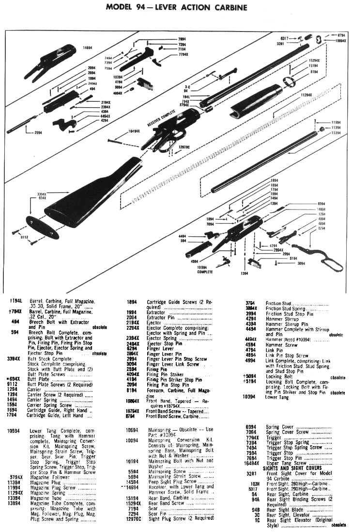 marlin model 88 diagram